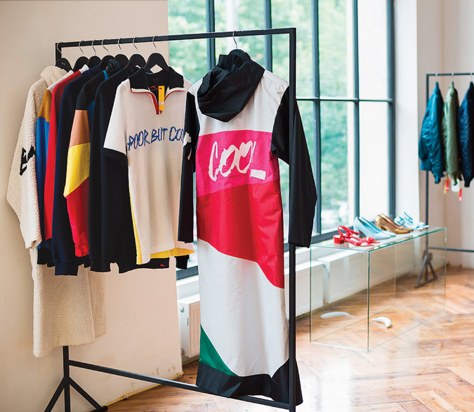 International labels on display at Chaos Concept Store. Credit Nata Abashidze-Romanovskaya
